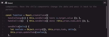 Simplified code