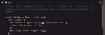 Click handling complete code