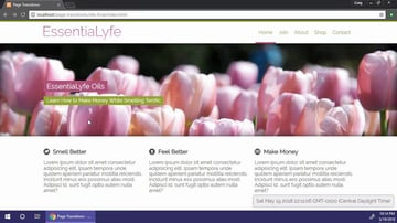 Creating Animated HTML5 Page Transitions demo site