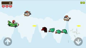 Birds of War JavaScript Game Template