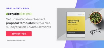 Free business proposal templates on Envato Elements