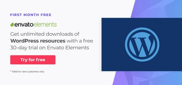 WordPress resources on Envato Elements