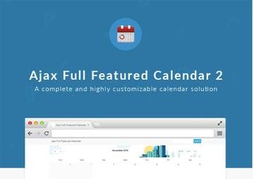 Ajax Calendar 2