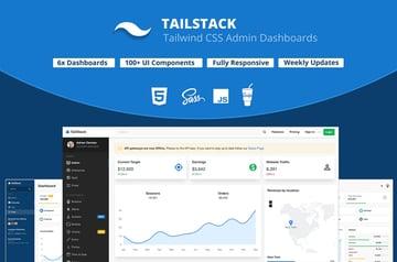 TailStack CSS Admin Dashboard