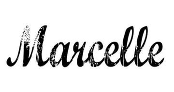 Marcelle Cursive Distressed Font