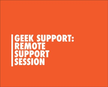 Remote Support Session