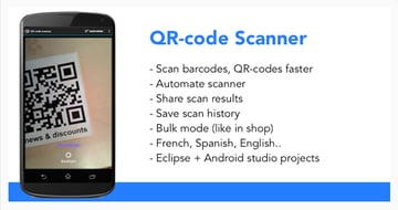 QR-Code  Barcode Reader on Envato Market
