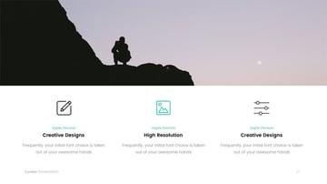 Eureka PowerPoint Slide Design