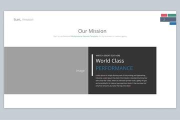 Case Study Keynote Design template