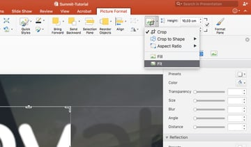 Fit Image in PowerPoint