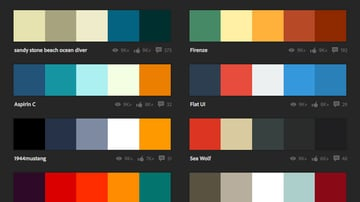 Adobe Color is an excellent resource to find good combinations of colors