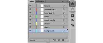 layer numbering and name addressing