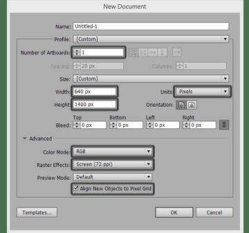 new document-settings