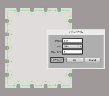 offset path settings