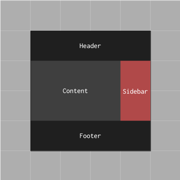 prototype footer