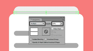 setting the blending mode for the top section shadow on the third icon