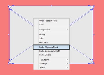 masking the top and bottom sections of the email icon