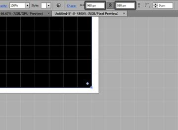 shape with round width and height onto bad artboard