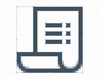 icon created using a pixel perfect foundation