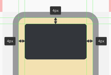 adding the screen to the ipod icon