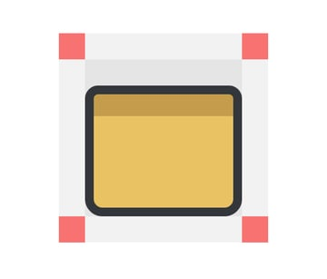 adding the top darker section to the tablet icon