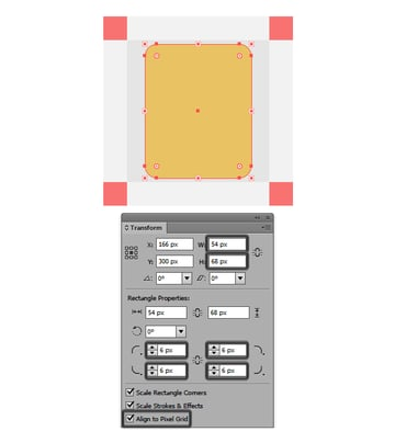 creating the main shape for the ipod icon