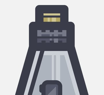 adding the gold plated section to the landing pod icon