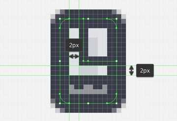 adding the L like line to the satellites main body
