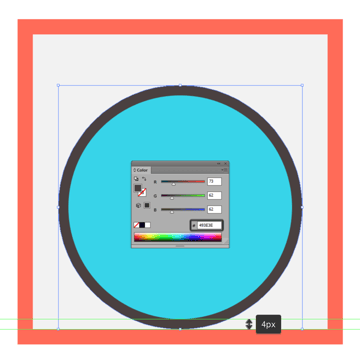 creating the outline for the default backgrounds main shape