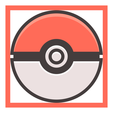 adding the highlights to the lower half of the poke ball