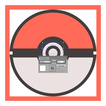 adjusting the transparency of the poke balls button highlight