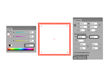 creating the main drawing area for the reference grid