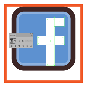 combining the facebook icons letter composing sections together