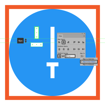 creating and positioning the main shape for the left sliders state indicator