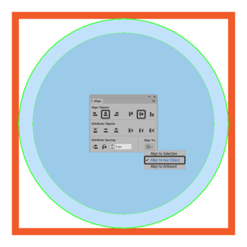adding the smaller circle to the repeating background