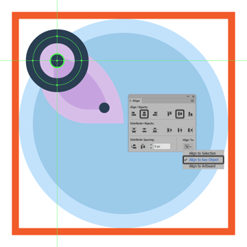 adding the thicker ring to the upper section of the butterfly icons left wing