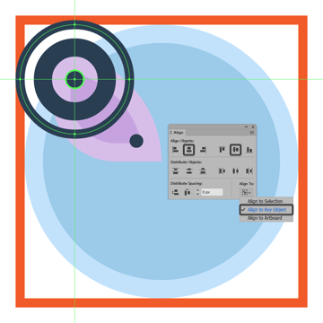 adding the thinner ring to the upper section of the butterfly icons left wing