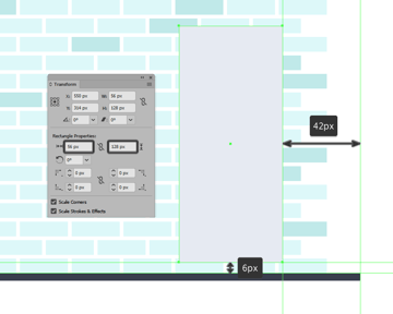 creating and positioning the main shape for the refrigerators right door