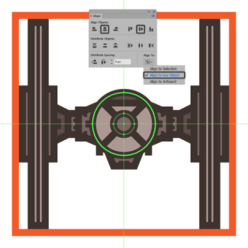 adding the access hatch to the tie fighters command pod