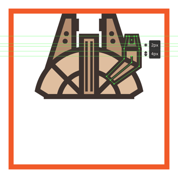 adding the final details to the millennium falcons cockpit