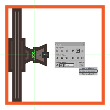 adding the horizontal insertions to the tie fighters left wing pylon