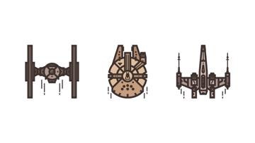 Star Wars Icons Adobe Illustrator Tutorial