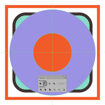adding the circular cutout to the inflatable rings front section