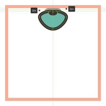 adding the smaller ellipse to the shell icons umbo