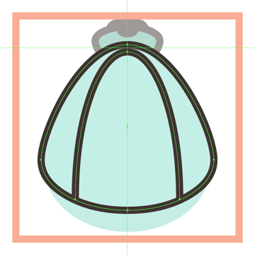 adding the vertical ring to the shell icons inner body section