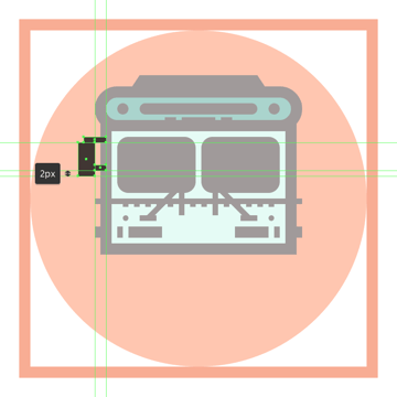 adding the support arms to the buss left side mirror