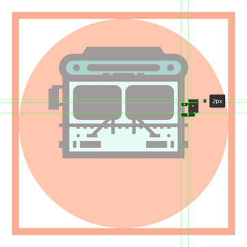 adding the support arms to the buss right side mirror
