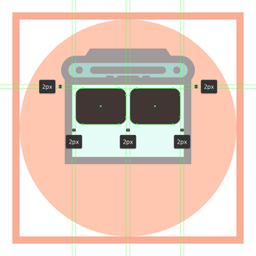adding the two windows to the buss main body