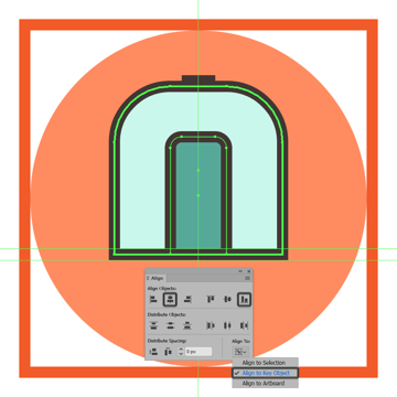 creating and positioning the main shapes for the trains door