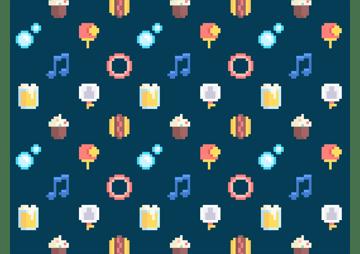 pixel icons by gustavo zambelli